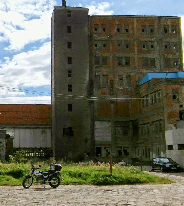 Wapno - ruiny fabryki