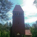 """""""Leśny"""" kościół niedaleko Kozina"""
