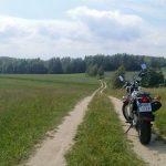 Polna droga w kierunku Kamionki
