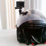 kamerka na kasku