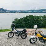 Widok na jezioro Kłodno