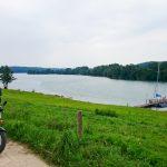 Jezioro Raduńskie Dolne od strony Chmieleńskich Chróstów