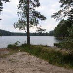 Na trasie rajdu jezioro Czarne