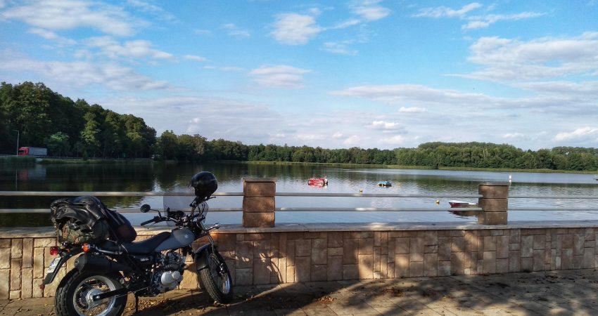 jezioro Szperek w Antoninie