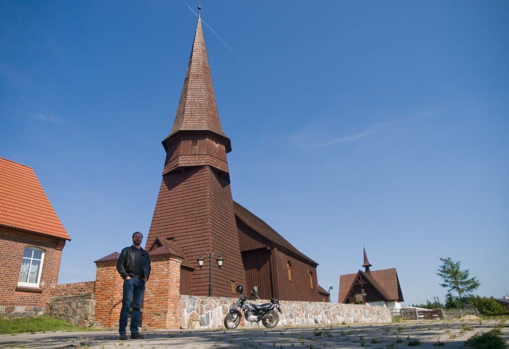 Leśno kościół z 1642 roku