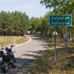 Z trasy - Sątoczno